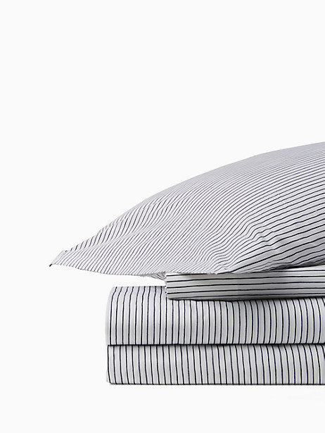 skinny stripe sheet set by kate spade new york