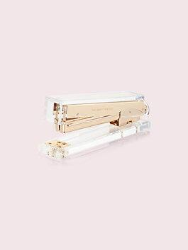 strike gold stapler, gold, medium