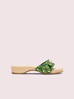 dr. scholl's x kate spade new york spade flower sandal by kate spade new york non-hover view