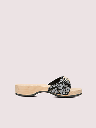 dr. scholl's x kate spade new york spade flower slide sandal by kate spade new york non-hover view