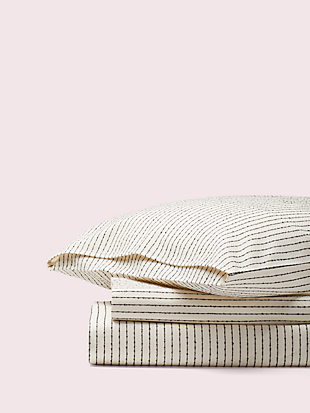 boucle stripe duvet set by kate spade new york non-hover view