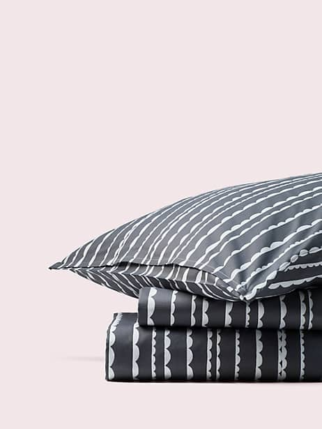 scallop row duvet by kate spade new york