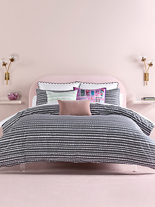 scallop row duvet by kate spade new york hover view