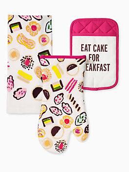 eat cake 3 piece set, multi, medium