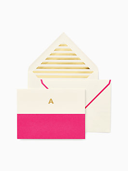 initial notecard set, a, medium