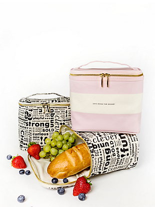 save room for dessert lunch tote by kate spade new york hover view