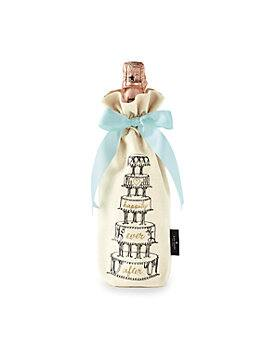 happily ever after wine tote, natural, medium