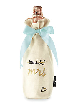 miss to mrs. wine tote, natural, medium