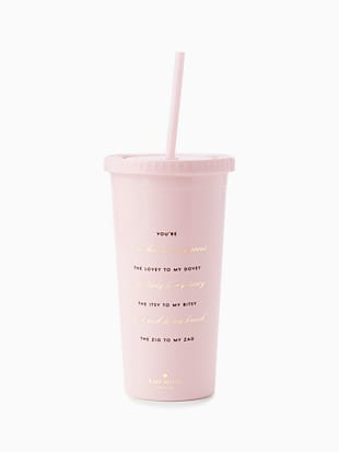 hocus to my pocus bridesmaid tumbler by kate spade new york hover view