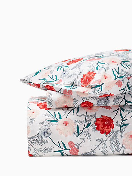 blossom comforter set, multi, large by kate spade new york