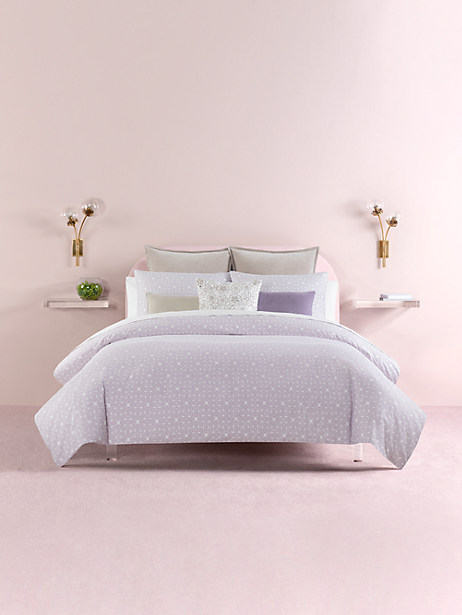 breezy blocks full/queen comforter set by kate spade new york