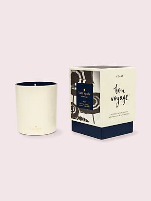 bon voyage coast large 10oz candle by kate spade new york non-hover view