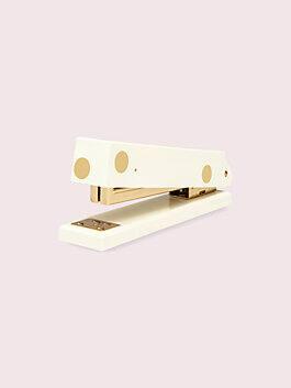 strike gold dot stapler, gold, medium