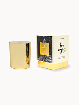 bon voyage holiday candle, multi, medium