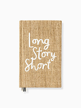 Word to the Wise Long Story Short Journal, natural, medium