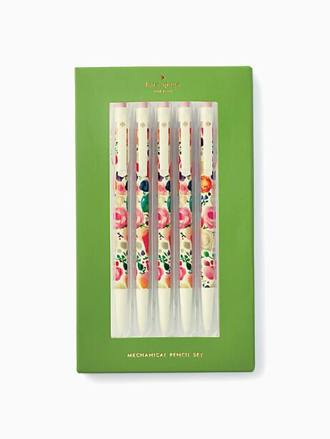 floral mechanical pencil set by kate spade new york