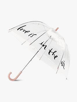 Love Is In The Air Clear Umbrella, multi, medium