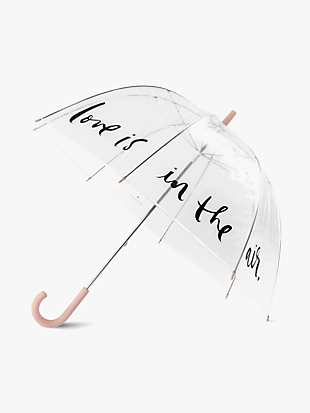 Love Is In The Air Clear Umbrella by kate spade new york non-hover view