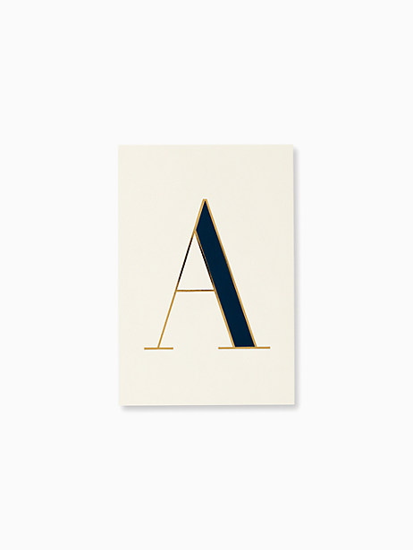 initial notepad by kate spade new york