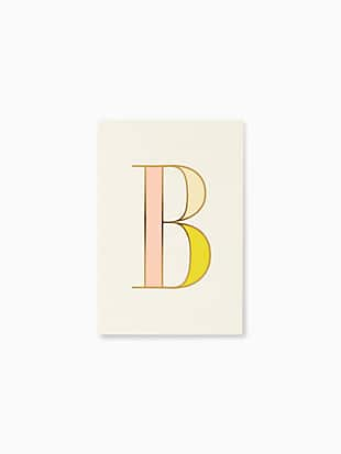 initial notepad by kate spade new york non-hover view