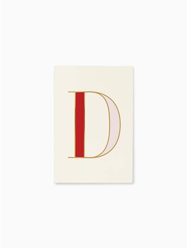 """Notizbuch mit Initiale """"D"""", , rr_large"""