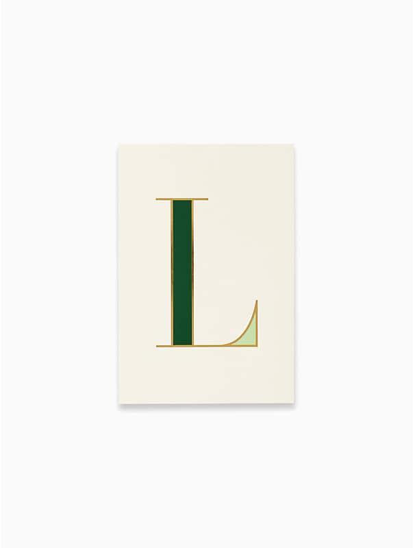 """Notizbuch mit Initiale """"L"""", , rr_large"""