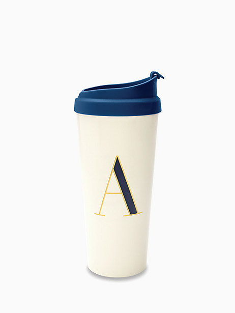 initial thermal mug by kate spade new york