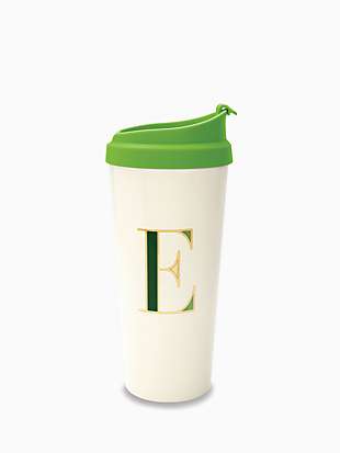 initial thermal mug by kate spade new york hover view
