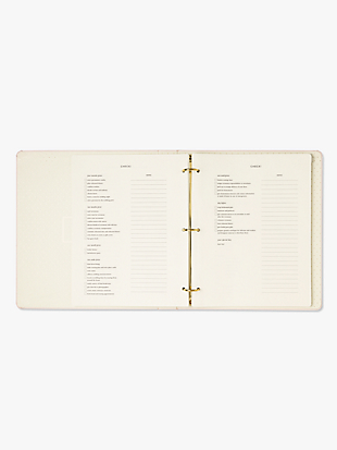 miss to mrs bridal planner by kate spade new york hover view
