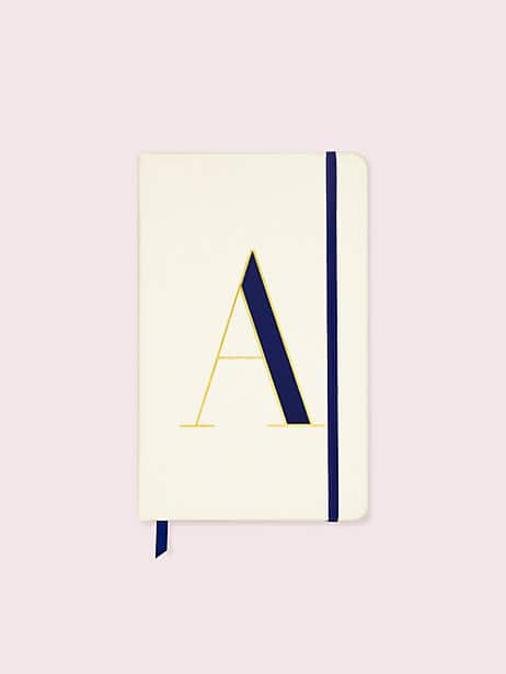 it's personal initial large notebook by kate spade new york