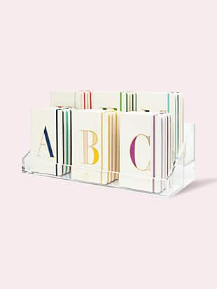 it's personal initial large notebook by kate spade new york hover view