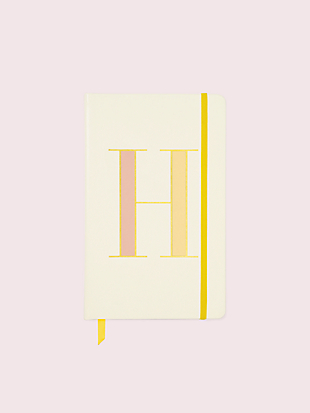 it's personal initial large notebook by kate spade new york non-hover view