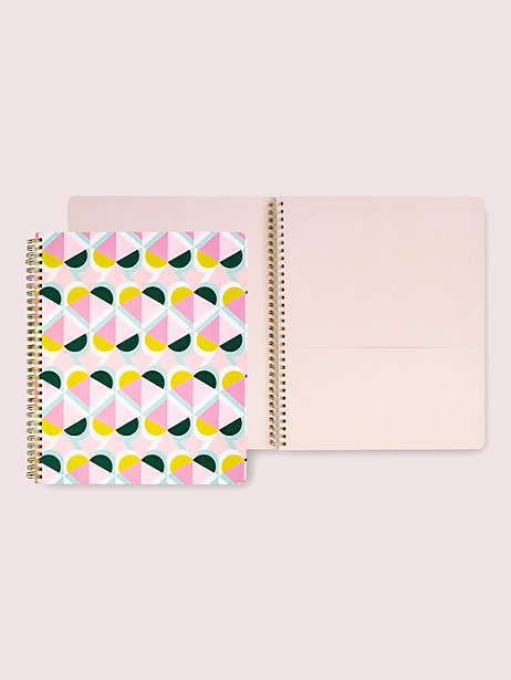 geo spade large spiral notebook by kate spade new york