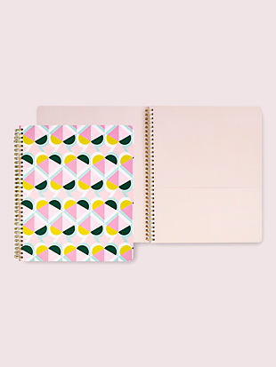 geo spade large spiral notebook by kate spade new york non-hover view