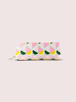 geo spade pencil case by kate spade new york non-hover view