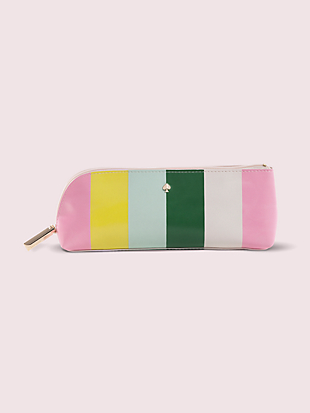 stripe pencil case by kate spade new york non-hover view