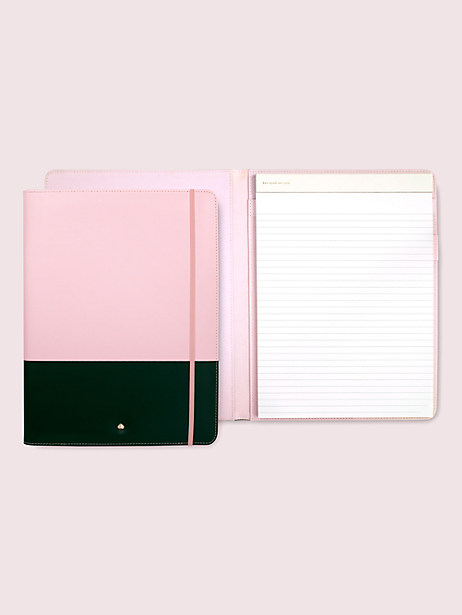 colorblock notepad folio by kate spade new york