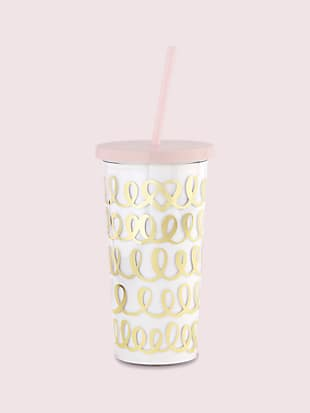 heart knot bridal tumbler by kate spade new york hover view