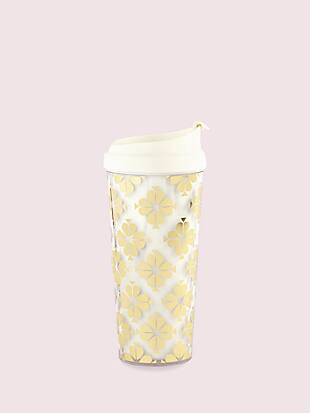 spade flower thermal mug by kate spade new york non-hover view