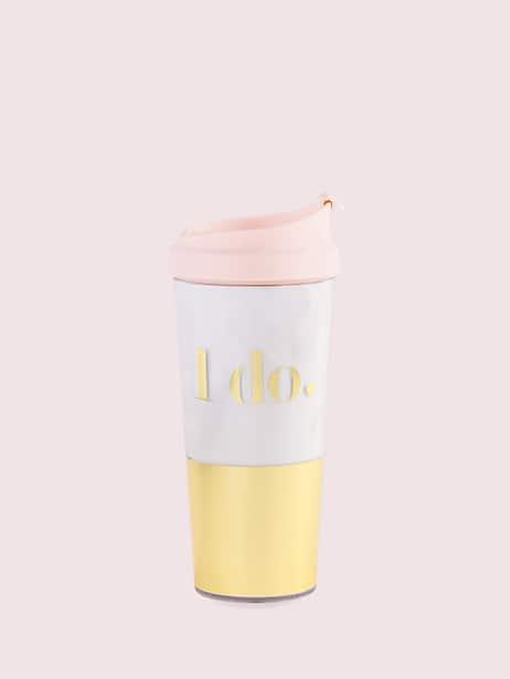 i do bridal thermal mug by kate spade new york