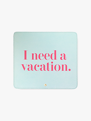 i need a vacation mouse pad by kate spade new york non-hover view