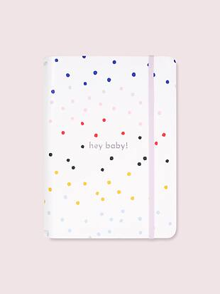 hey baby dancing dots notebook folio set by kate spade new york hover view