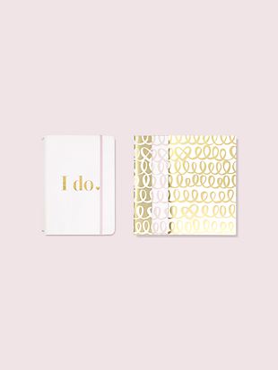i do notebook folio set by kate spade new york non-hover view