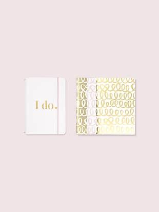 Kate spade i do notebook folio set