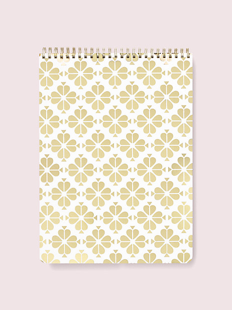 spade flower large top spiral notebook by kate spade new york