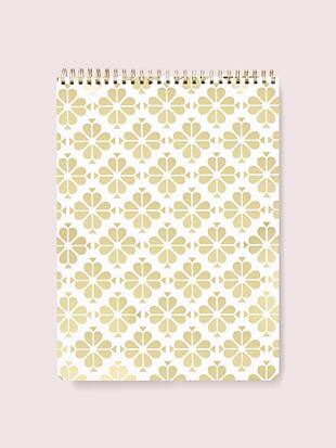 spade flower large top spiral notebook by kate spade new york non-hover view