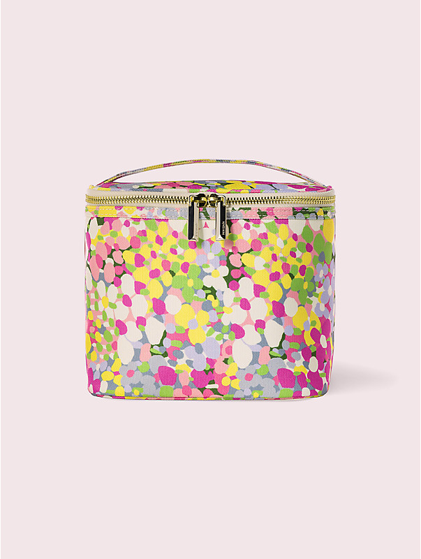 floral dot lunch tote, , rr_large