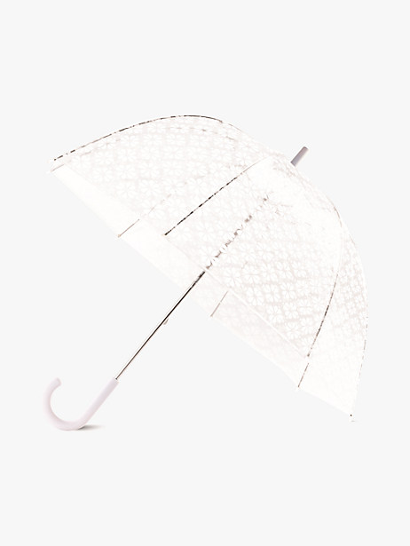 spade flower clear umbrella by kate spade new york