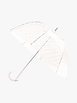 spade flower clear umbrella by kate spade new york non-hover view