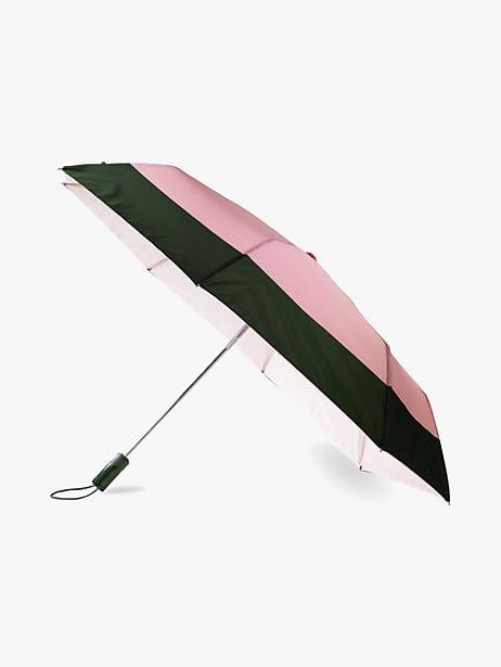 colorblock travel umbrella by kate spade new york